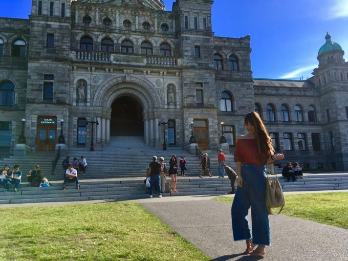ビクトリア 観光スポット 州議事堂