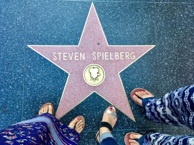 Hollywood Walk of Fameフォークオブフェイム