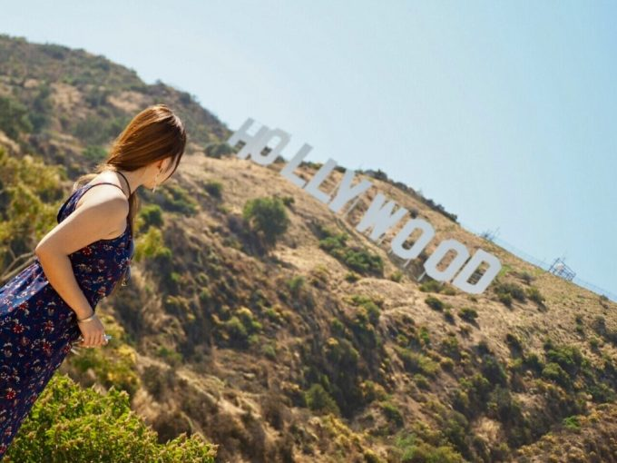 Hollywood sign ハリウッドサイン