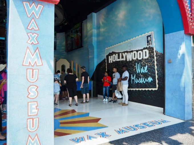 Hpllywood Wax Museumマダムタッソーろう人形館
