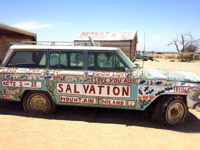 Salvation Mountainサルベーションマウンテン