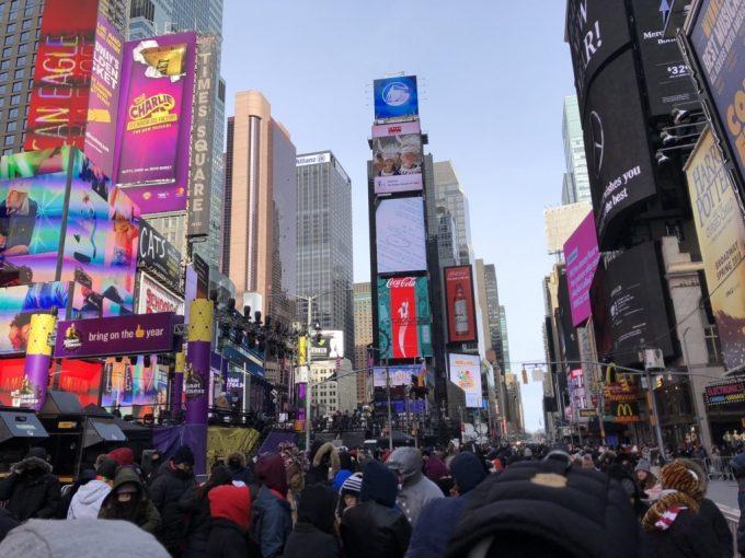 ニューヨークカウントダウンの参加方法