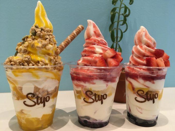 バングーバー スイーツ店 ソフトピークスアイスクリーム