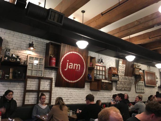 バングーバー スイーツ店 ジャムカフェ