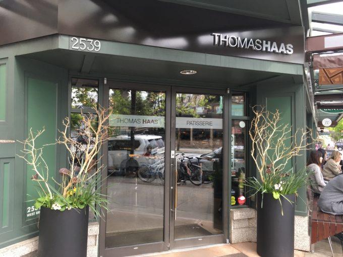 バングーバー スイーツ店 トーマスハース