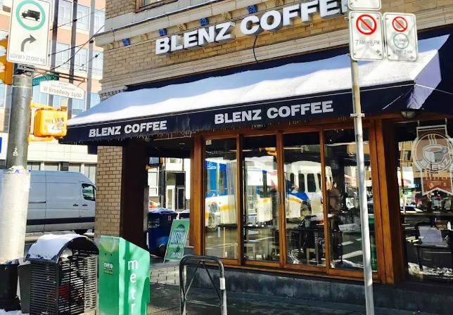 バングーバー スイーツ店 ブレンズコーヒー