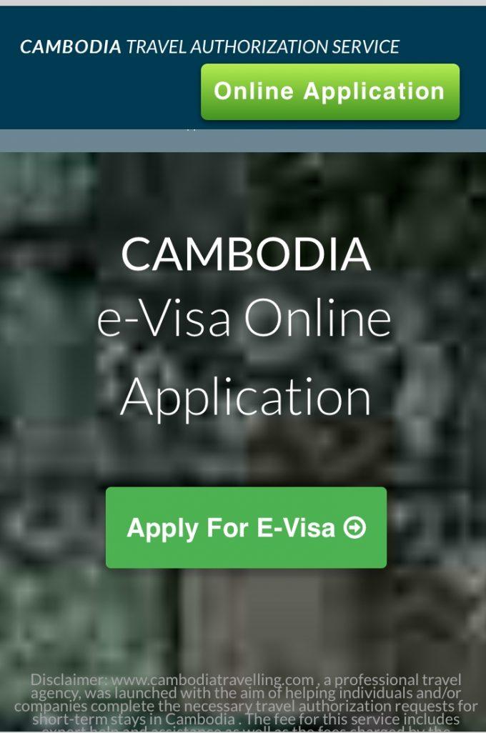 e-visaサイト
