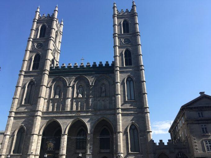 Notre-Dame Basilica exterior