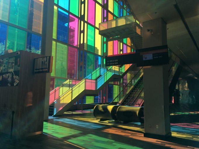 Palais des congres de montreal inside