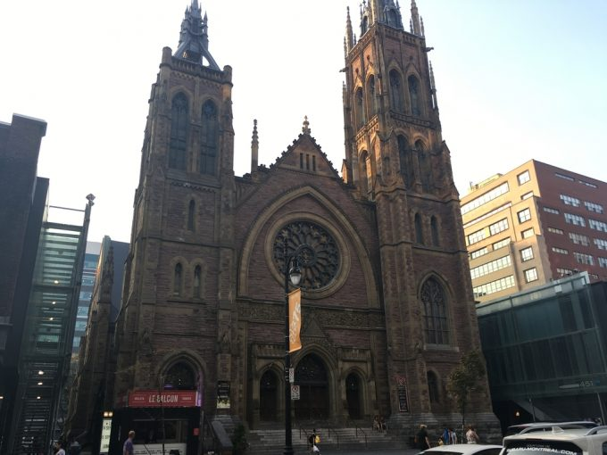 montreal downtown church