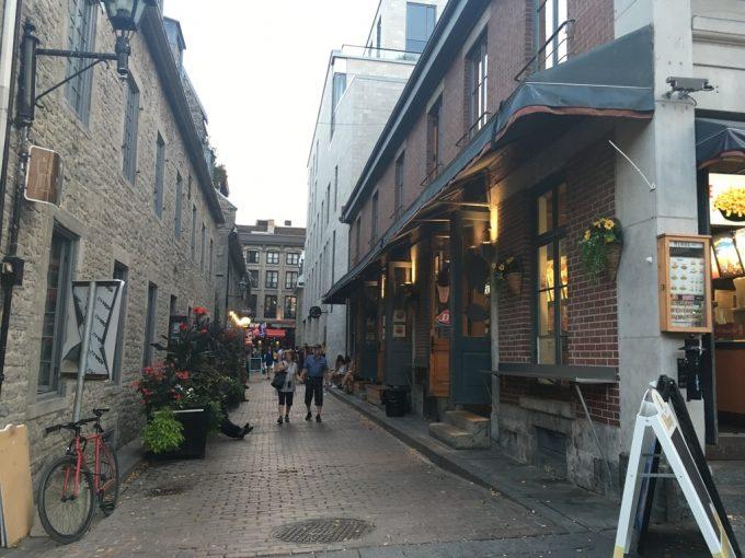 モントリオール 街並み
