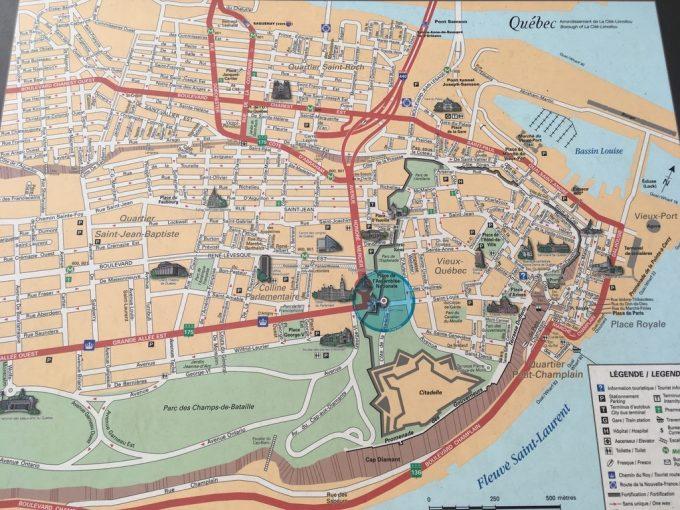 Porte St. Louis map
