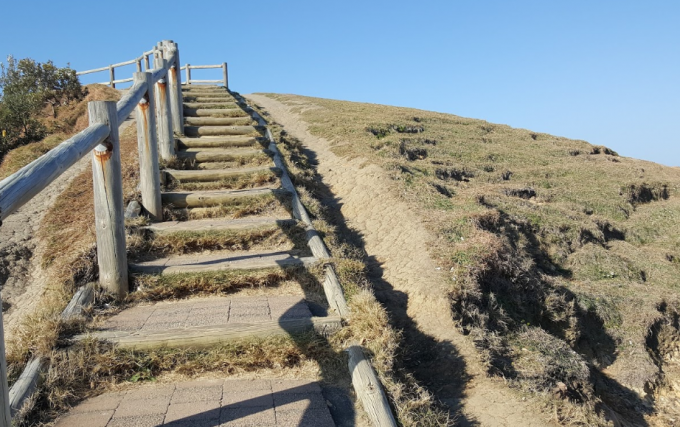 バイロンベイ灯台 階段