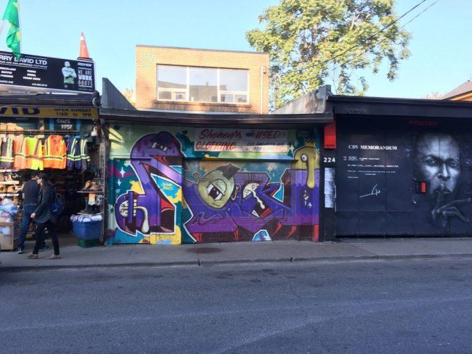 Kensington Market street