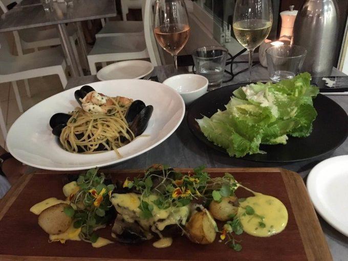 Noosa Main Beach dinner