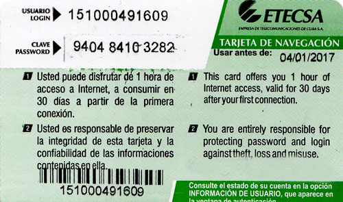 ETECSAのWi-fiカード Back