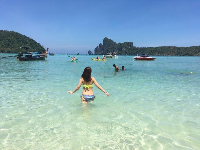 ピピ島 Loh Dalum Beach1
