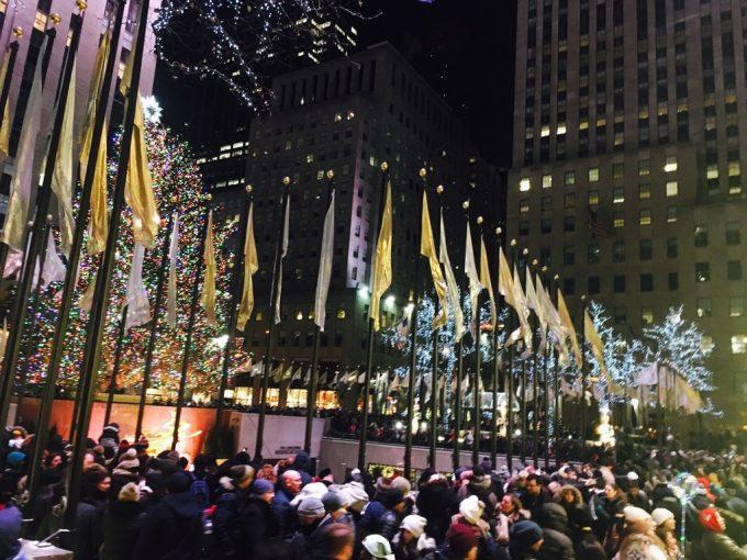 Rockefeller Centerスケートリンク