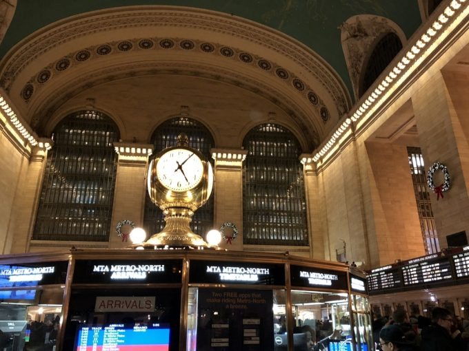 Grand Central Station 時計