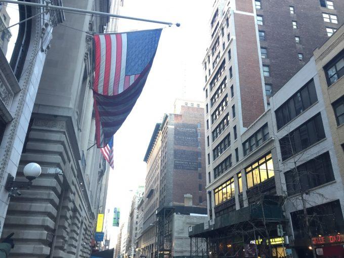 NY街並み
