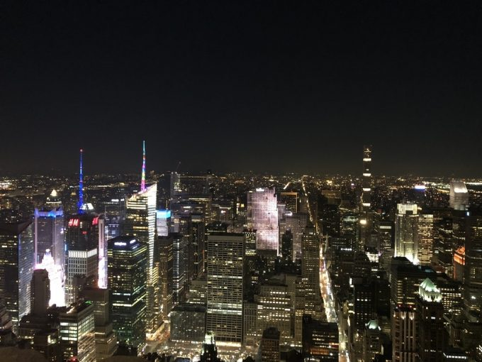 The Empire State Building 夜景