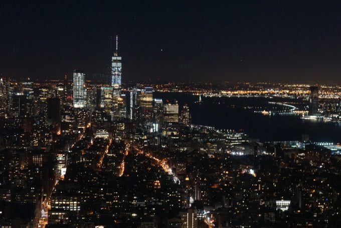 The Empire State Building夜景2