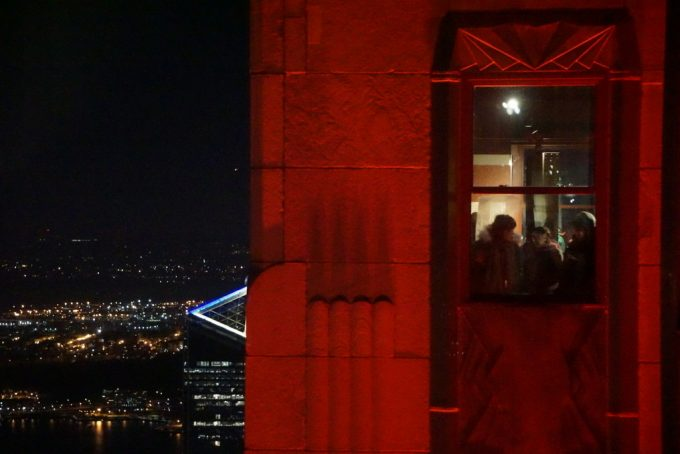 The Empire State Building 夜景3