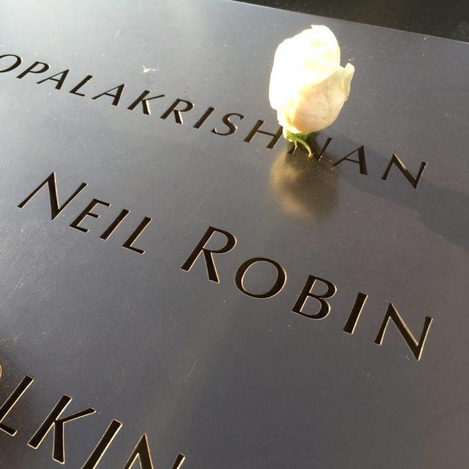 9/11 Memorial & Museum慰霊碑