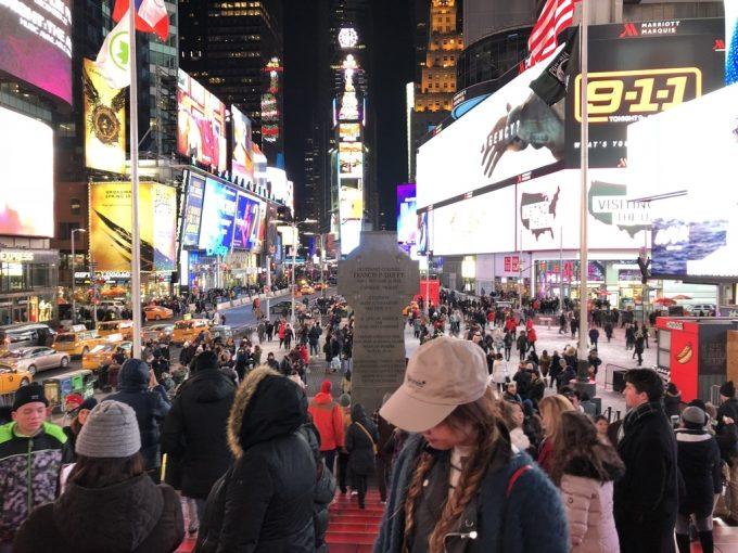 Times Square 夜2