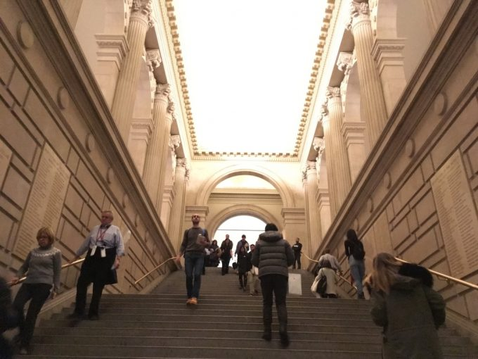 The metropolitan museum of art館内