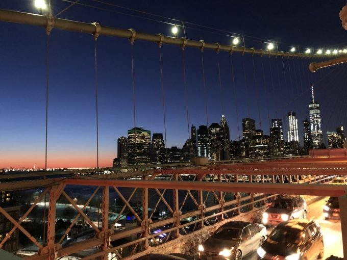Brooklyn Bridge夜景3