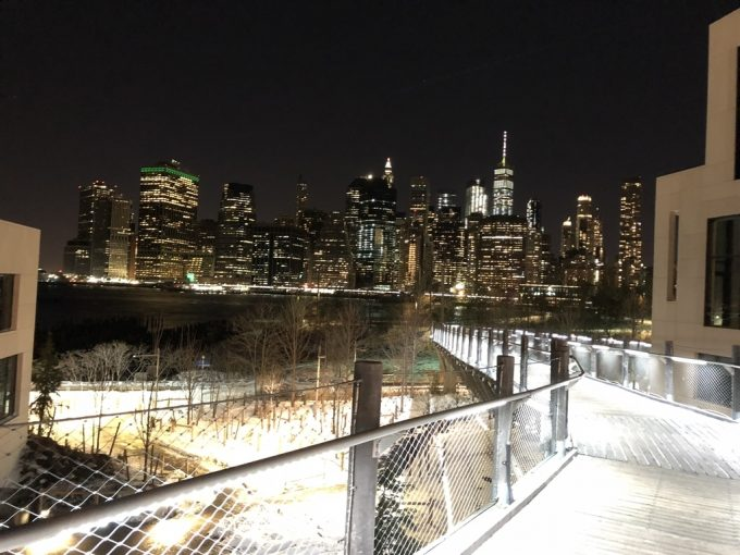 Brooklyn Bridge 夜景5