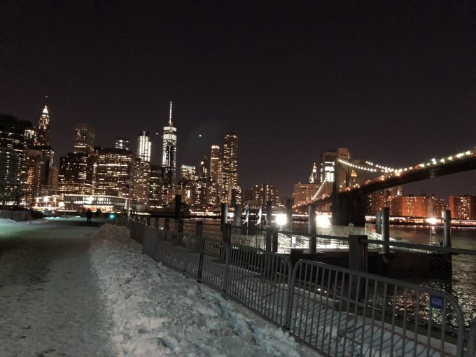 Brooklyn Bridge Park 夜景2