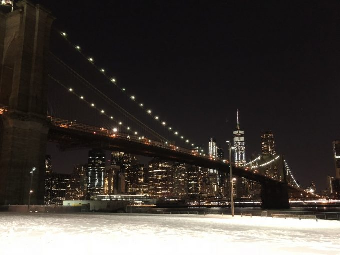 Brooklyn Bridge Park 夜景