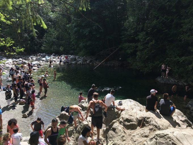 Twin Falls Bridge jump