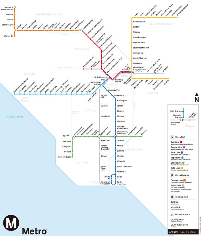 ロサンゼルス メトロ