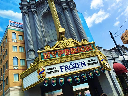 アナと雪の女王のショー