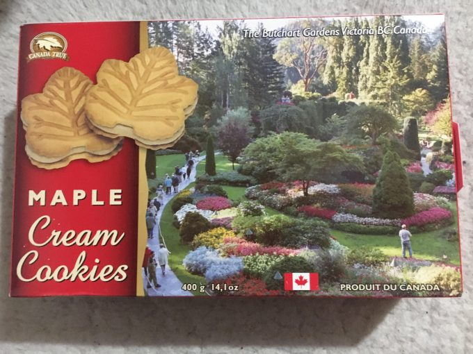 maple cookie