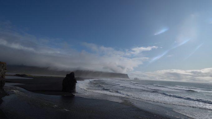 アイスランドの南海岸線