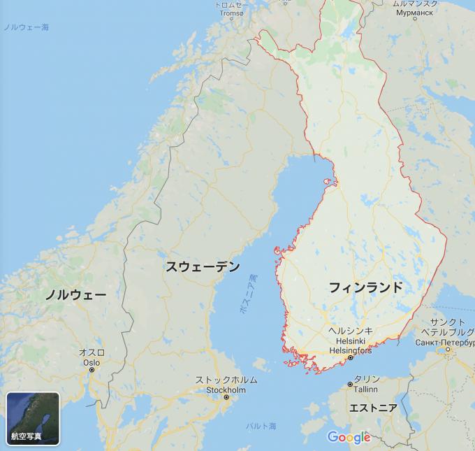 フィンランド 場所