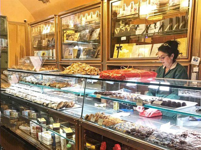 ジョリッティのお菓子コーナー
