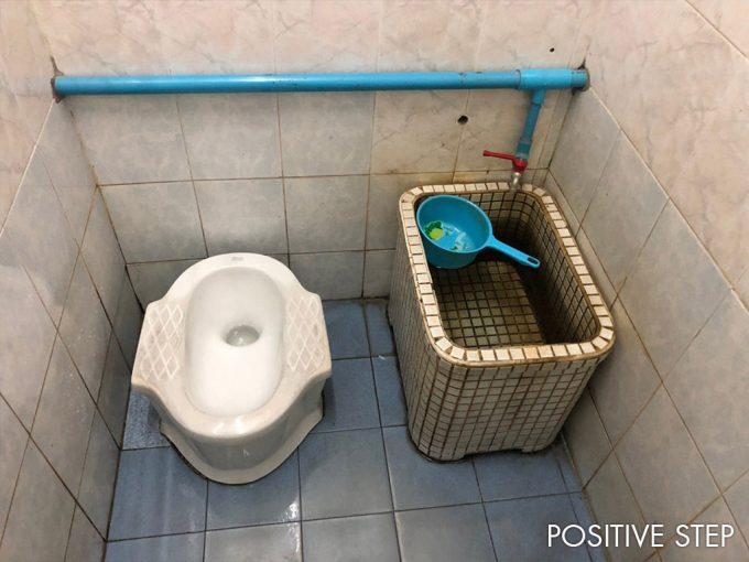 ナイトマーケットのトイレ事情