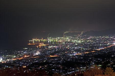 三島公園から見る夜景