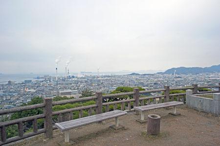 三島公園の展望台