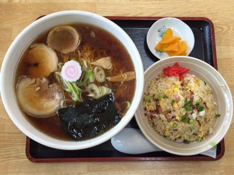 秋田大盛りランチ >味の店 こだま食堂(湯沢市)