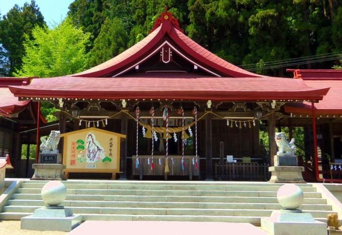 金蛇水神社(宮城県岩沼市)