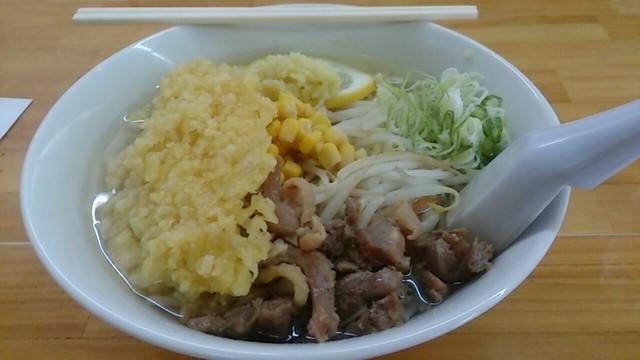 「ゑびすや」の生姜ラーメン