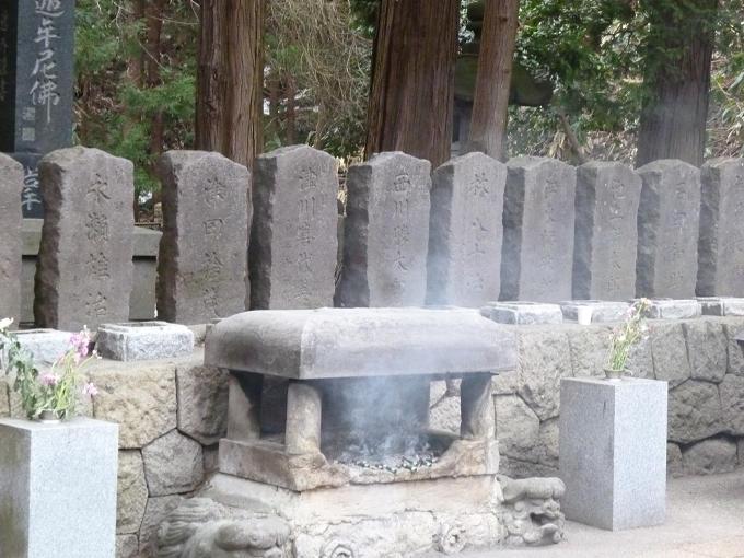 百虎隊士の墓