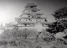 落城した鶴ヶ城(出展:若松城)
