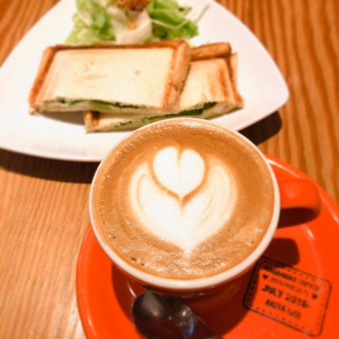 ナガハマコーヒー モーニング